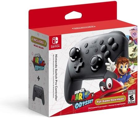 Nintendo Switch Pro Controller con descuento en Amazon México