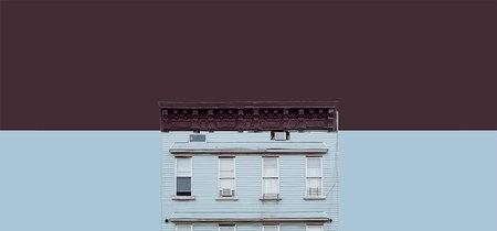 Para amantes de la arquitectura: colección de fotos de edificios de Brooklyn en colores de Pantone