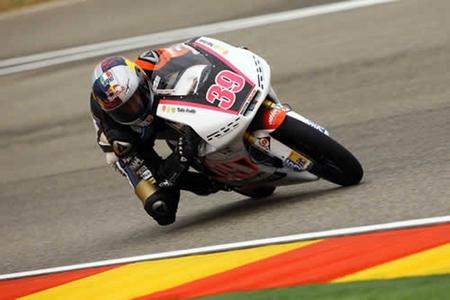 MotoGP Aragón 2012: Luis Salom se lleva el festival de hachazos de Moto3