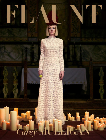 Flaunt portada con Carey Mulligan