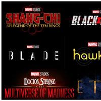 Todas las confirmaciones de la Fase Cuatro de Marvel: 'Thor 4', 'Blade' 'Doctor Strange 2' o 'Eternals' entre muchas otras sorpresas