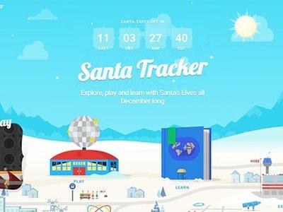 ¿Dónde está Santa Claus? Con estas apps tus hijos sabrán su ubicación en Nochebuena