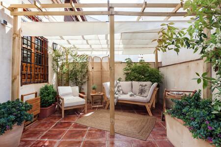 Alojamiento Airbnb Patio Con Vistas A La Alhambra En Granada Andalucia 3