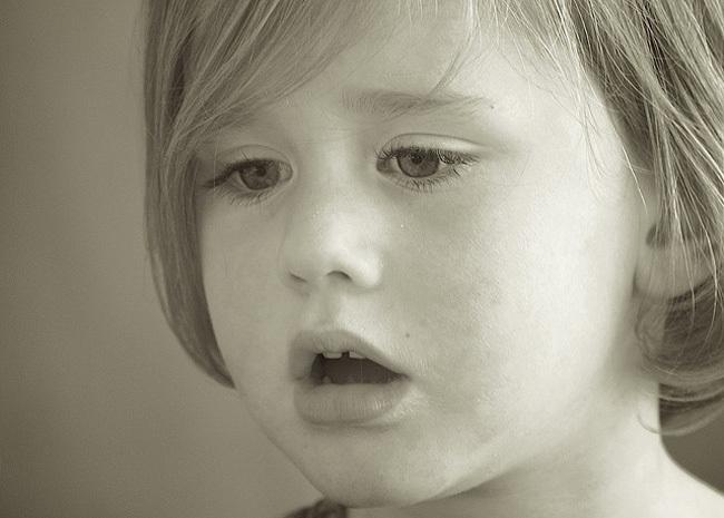 Llagas en la lengua en ninos de dos anos