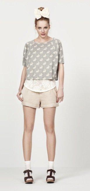 Zara, nuevo lookbook para el Verano 2010: shorts