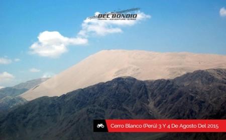 Christoph del Bondio, a la conquista de la duna Cerro Blanco