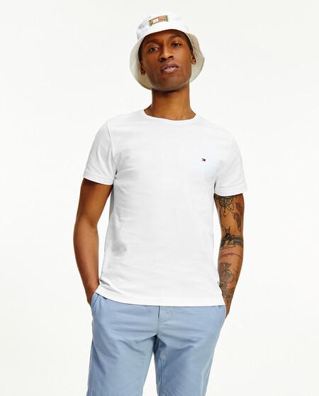 Camiseta De Hombre Basica Blanca