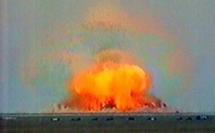 Bomba de vacío o termobárica, ¿respetuosa con el medio ambiente?
