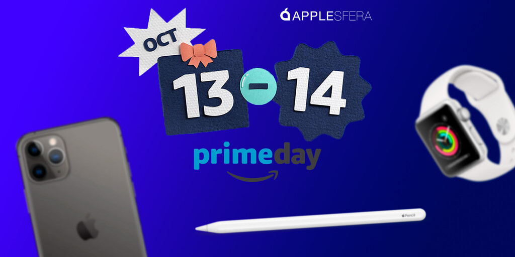 Amazon Prime Day 2020: Mejores ofertas en iPhone, iPad, Mac y Apple Watch
