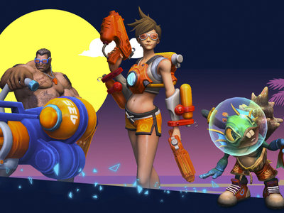 ¿Tracer en bikini, o eres más de Puntos? El verano llega a Heroes of the Storm con nuevos modos y skins