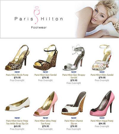 La primera colección de calzado de Paris Hilton
