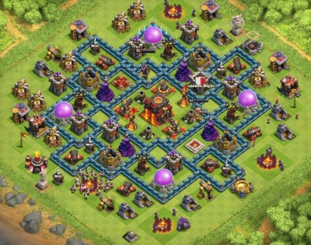clash of clans aldea