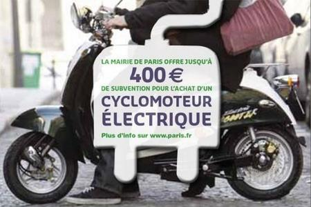 París prorroga las ayudas a los vehículos eléctricos de dos ruedas