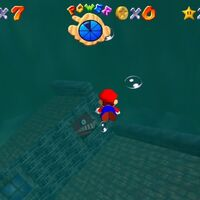 Super Mario 64: cómo conseguir la estrella Plunder in the Sunken Ship de Jolly Roger Bay