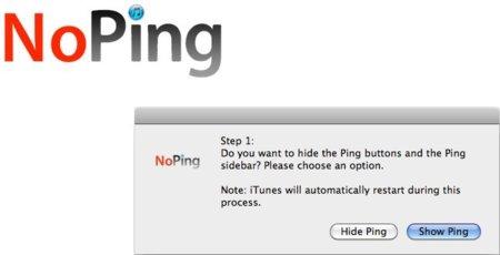 No Ping y deshazte del servicio Ping en iTunes 10
