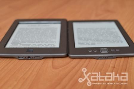 Grosor y peso de nuevos Kindle TOuch