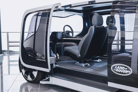 Jaguar Land Rover Project Vector mandos conductor