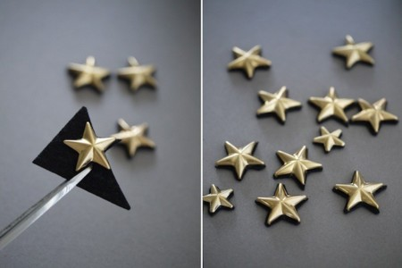estrellas fieltro