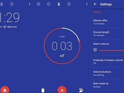 Reloj de Google ahora vibra al terminar el temporizador y otros cambios visuales