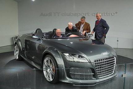 El Audi TT Clubsport Quattro podría producirse en una serie de 200 unidades