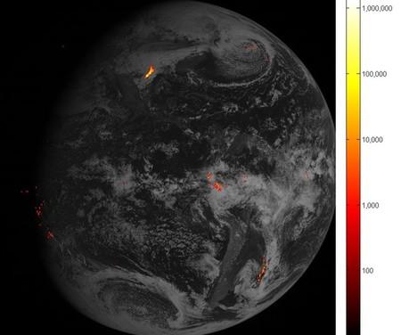 Ya tenemos las primeras imágenes de rayos desde órbita geoestacionaria