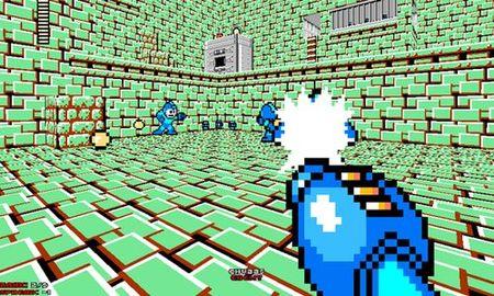Mod que convierte el 'Doom II' en un FPS del 'Mega Man'