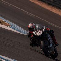 La Ducati Panigale V4 ha sido la mayor novedad en el primer día de test de SBK en Jerez