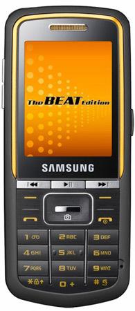 Samsung Beat Edition, móviles musicales