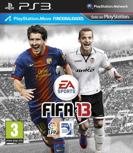 Portada FIFA 13 (PS3)