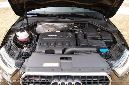 Audi Q3 quattro prueba motor