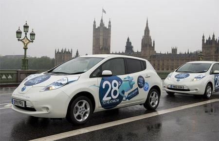 Nissan Leaf Taxi Londres