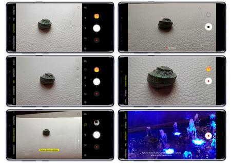 One UI app de cámara