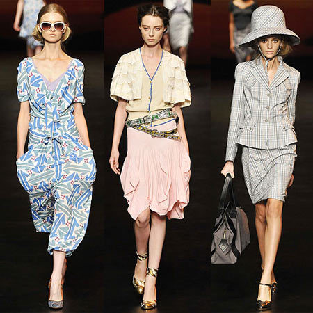 Vivienne Westwood en la Semana de la Moda de Londres Primavera-Verano 2009