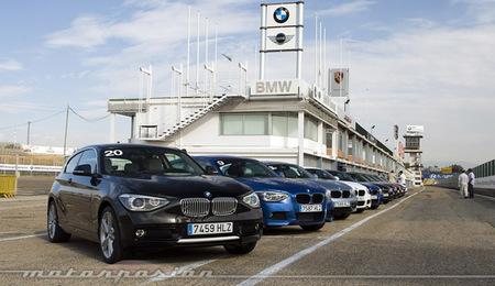 BMW Serie 1 y BMW Serie 3 Touring, presentación y prueba en el circuito del Jarama