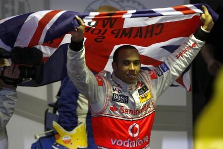 Hamilton F1 2008