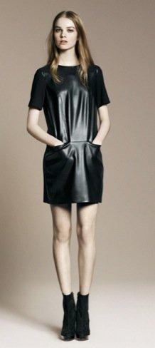 Zara Otoño-Invierno 2010/2011 vestido negro