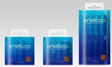 Eneloop, las baterías sin efecto descarga