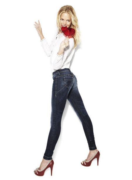 Jeans de Blanco Otoño-Invierno 2012/2013