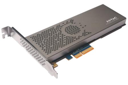 Zotac también tendrá un SSD PCIe 3.0 x4 con memoria NAND Flash de 10nm