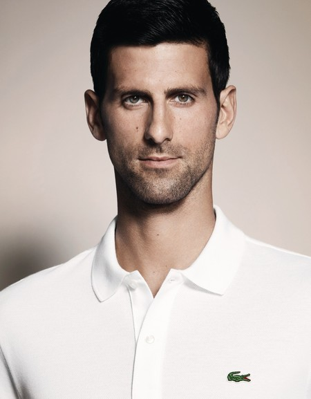 Novak Djokovic en piel de cocodrilo: el tenista es ahora embajador de estilo de Lacoste