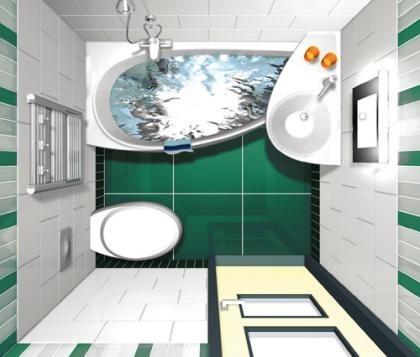 Un lavabo sobre la bañera