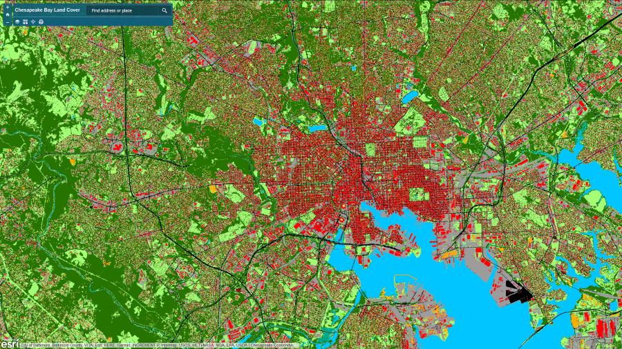 Mapas mejorados reconocimiento a la inteligencia artificial que apoyan a preservar el medioambiente