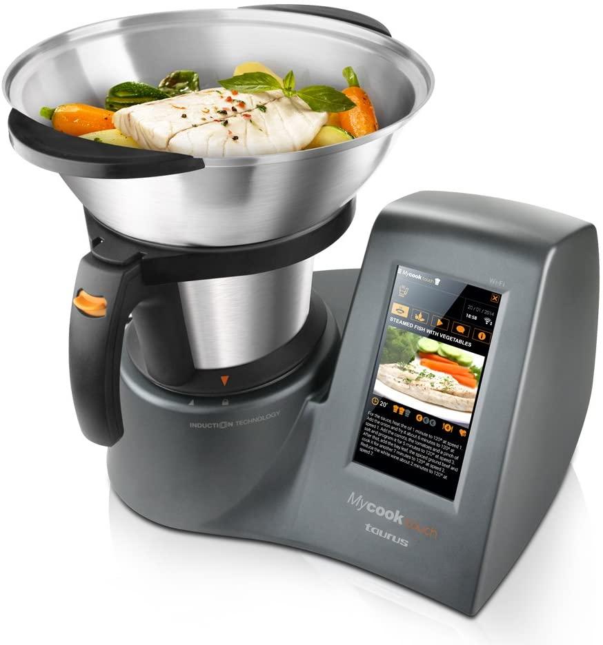 Robot de cocina Taurus Mycook Touch con conexión Wi-Fi integrada