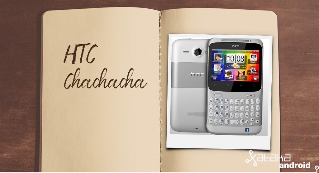 Móviles con los que flipaste en su día: HTC® ChaChaCha