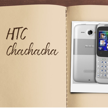 Móviles con los que flipaste en su día: HTC ChaChaCha