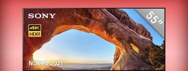 Smart TV Sony 4K de 55 pulgadas a mitad de precio en Amazon México: HDMI 2.1 y 120Hz, perfecta para Xbox Series X y PS5