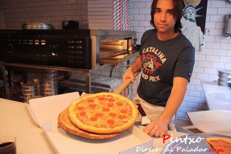 La pizza New Yor de En Guay Si