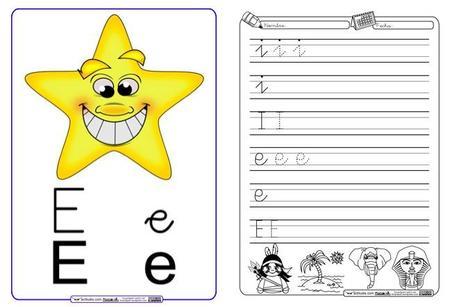 Fichas con divertidas actividades para aprender las vocales