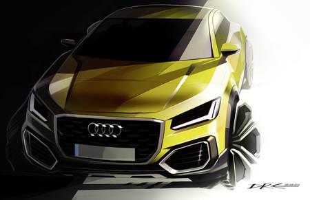 Audi SQ2 boceto