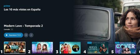 Amazon Prime Video estrena su top 10: estas son las series y películas más vistas de la plataforma